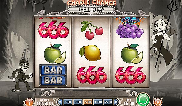 Main Slot Indonesia - Charlie Chance In Hell To Pay (Play N Go)