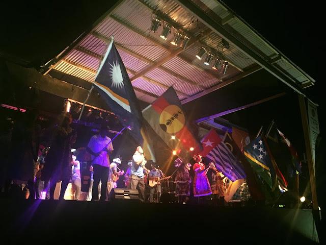 Band asal Papua meriahkan festival Fest Napuan di Vanuatu