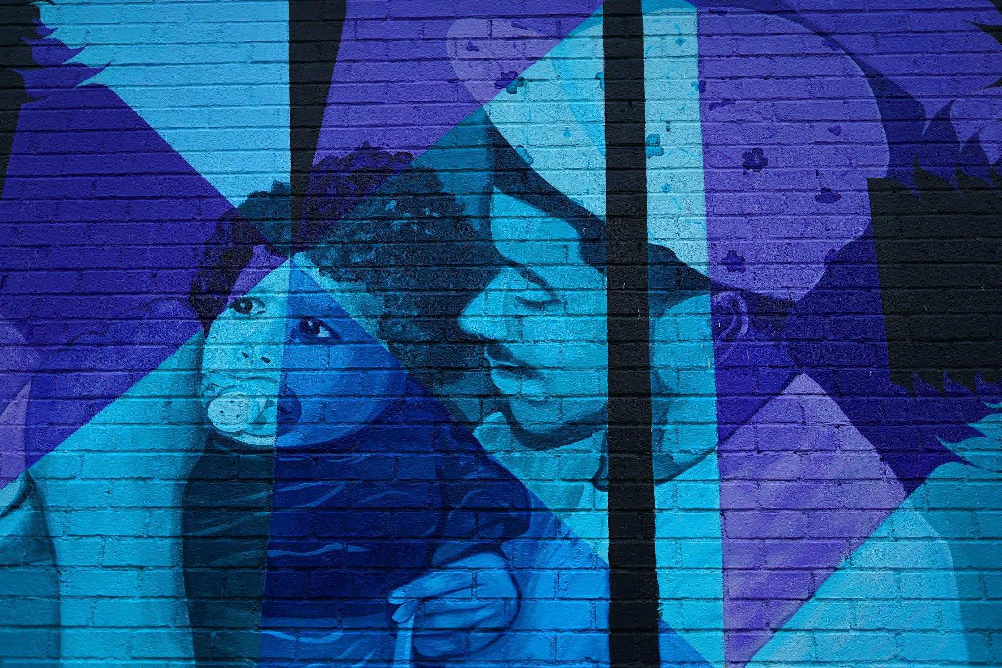 Jasa Mural Jakarta, Mural Abstrak