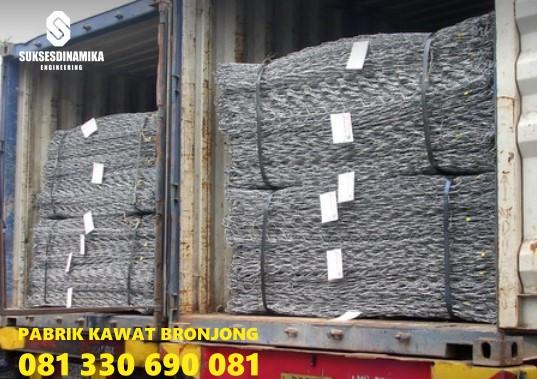 Produsen Bronjong Terbaru Sidoarjo Tulangan,bronjong kawat pabrikasi manual jual harga murah pabrik