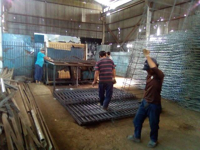 Pabrik Pencelupan Pagar BRC Galvanish