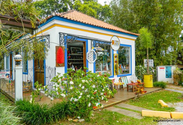 Compras em Florianópolis: loja de artesanato em Santo Antônio de Lisboa