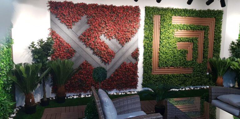 شركة تنسيق حدائق الرياض تنسيق حوش المنزل بالرياض تركيب عشب صناعي