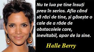 Citatul zilei: 14 august - Halle Berry
