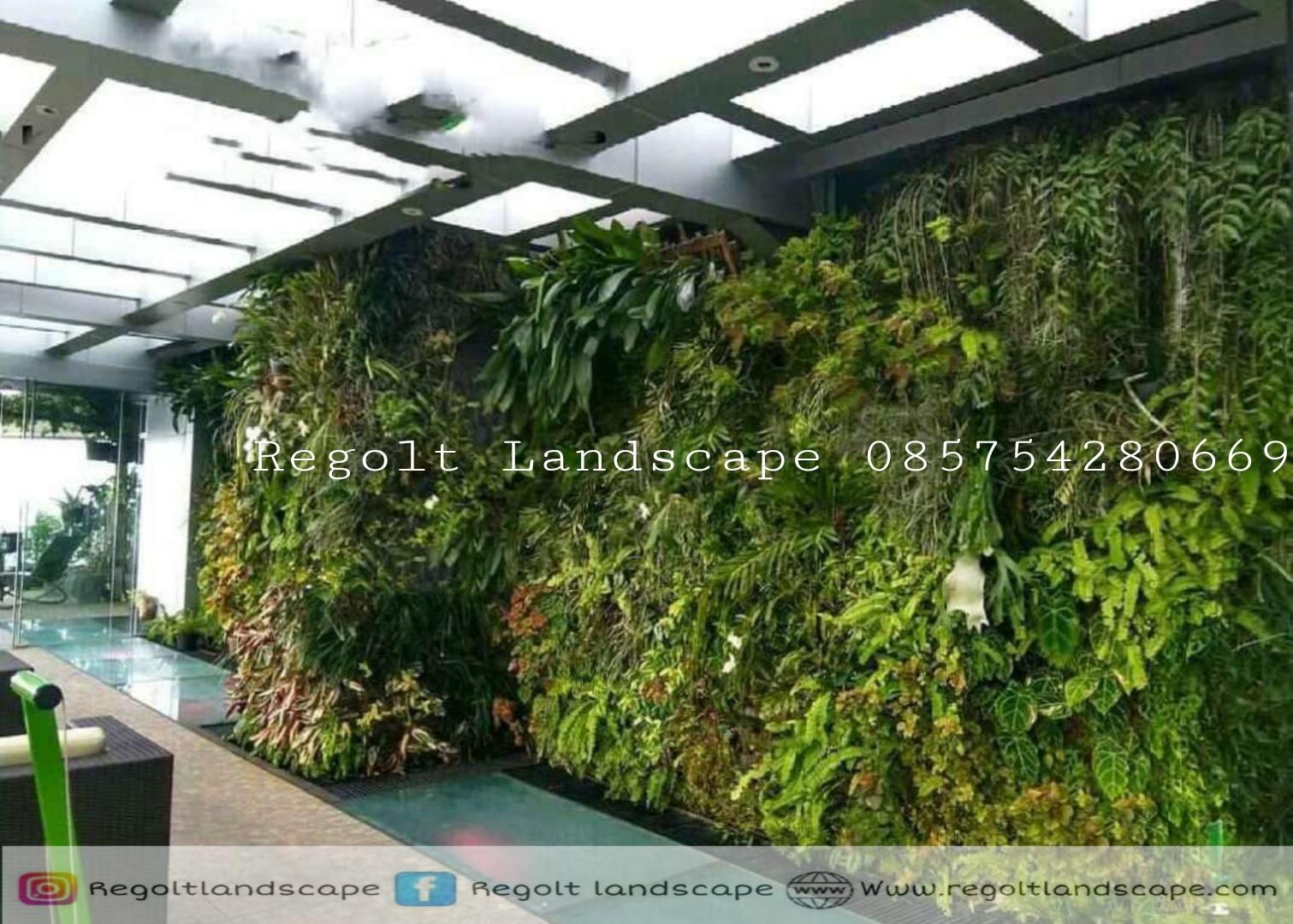 Jasa Pembuatan Vertical Garden Di Surabaya