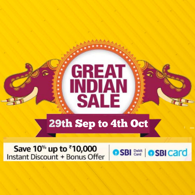 Amazon Great Indian Festival Sale 2019 Offers Revealed On Android Phones and Smart Television