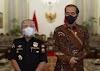 Ketum Senkom Mitra Polri Diterima Presiden Jokowi di Istana Negara