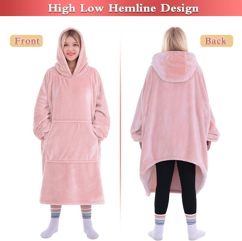 40% off Super Warm and Cozy Big Blanket Hoodie