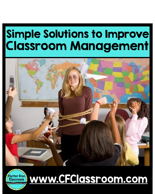 Do you want to be a highly-effective teacher? Classroom management is the key to success in the classroom. This post shares 5 easy classroom management strategies to improve your classroom management skills.