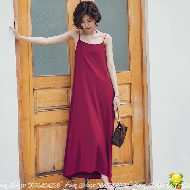 Shop ban vay maxi di bien o Hai Ba Trung