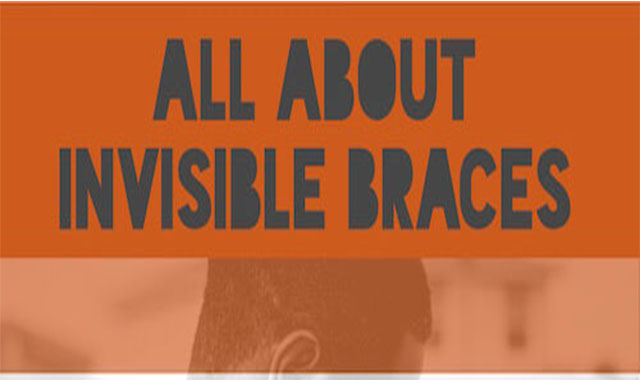 All About Invisible Braces #infographic