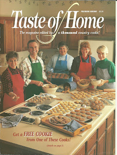 First Issue Of Taste Of Home