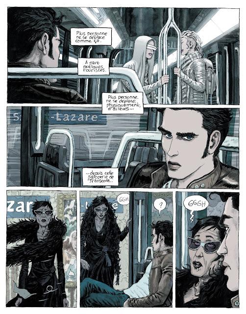 Paris 2119 de Zep et D.Bertail aux editions Rue de Sèvres page 3
