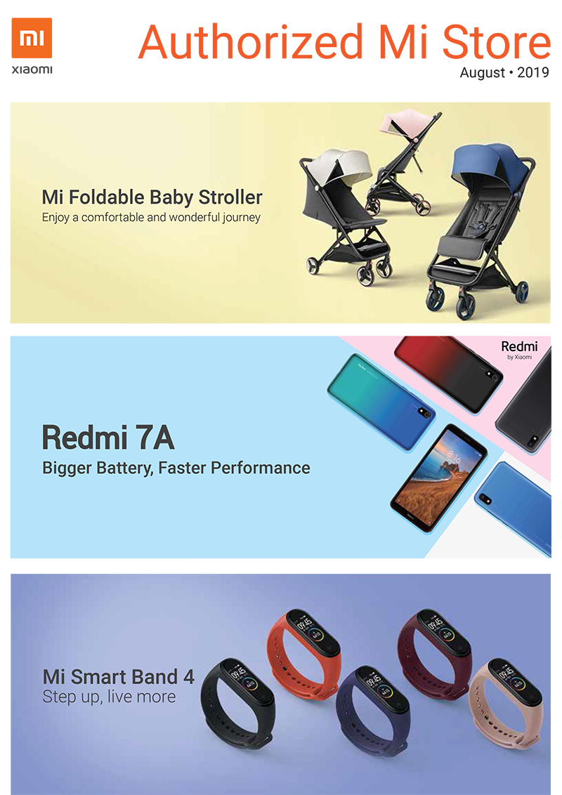 Xiaomi PH's August 2019 brochure reveals new and upcoming products
