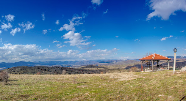 View from Saint Athanasius Monastery near Staravina village, #Mariovo, #Macedonia