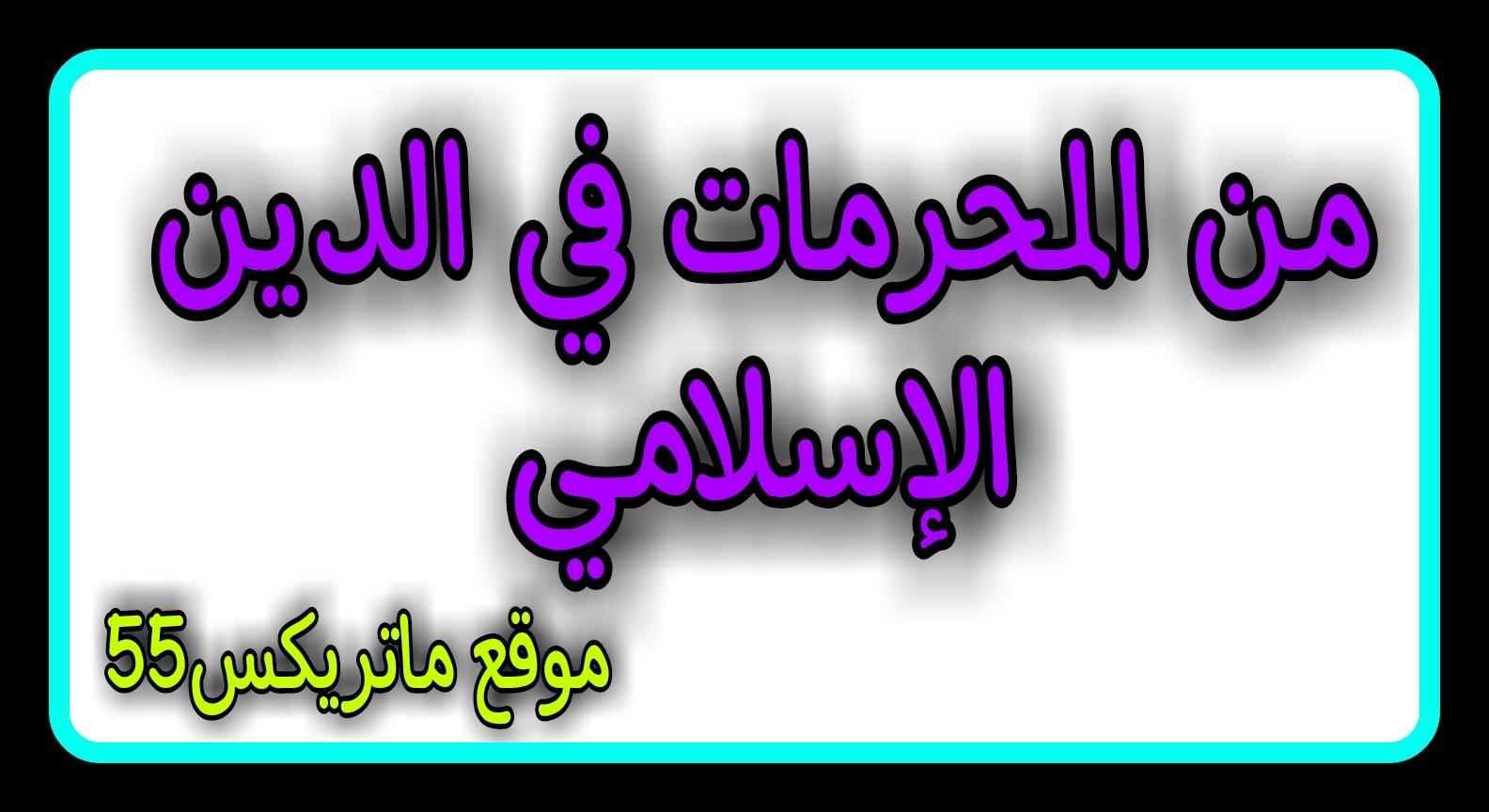 المحرمات في الدين الإسلامي  | نشأة المنهج الاسلامي | نظرية المنهج الاسلامي | المنهج الاسلامي في معاملة الحكام