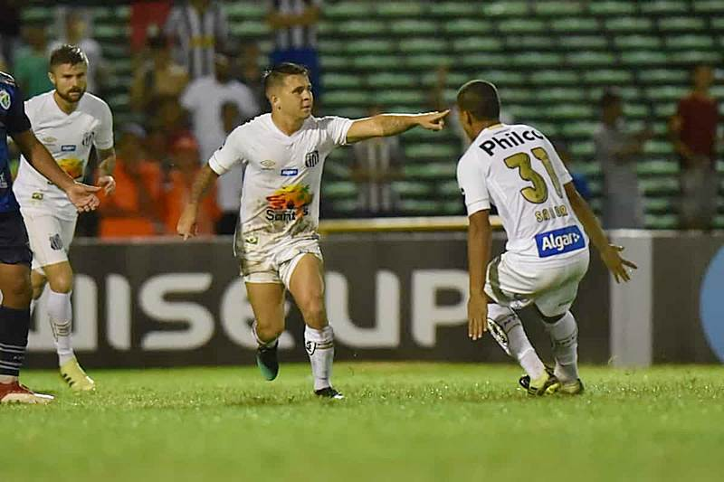 Santos FC goleia na Copa do Brasil