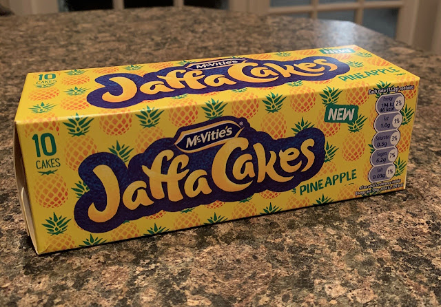 McVities Jaffa Cakes - Pineapple