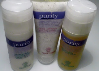 Cleansing lotion, Facial Exfoliator & Facial Wash, Purity Organic Skincare