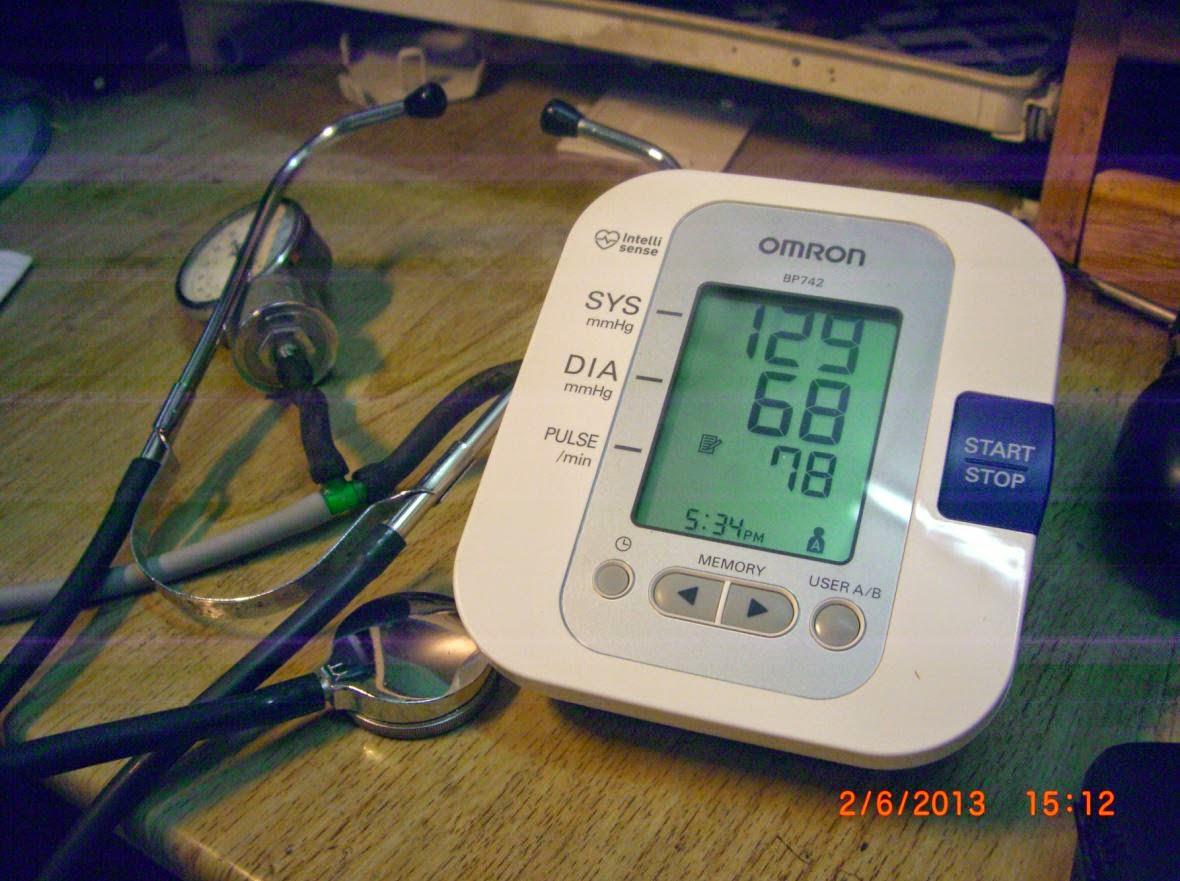 Skyjuice Review On Omron Blood Pressure Meter