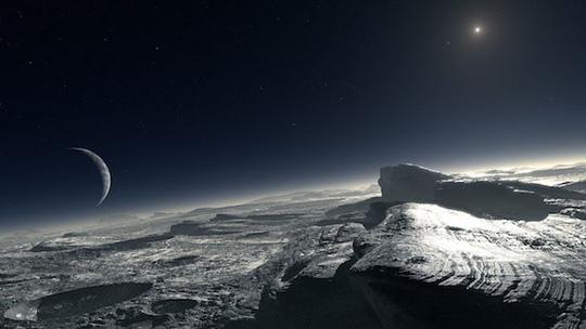 Phát hiện đại dương và sự sống trên hành tinh thứ 9 trong hệ Mặt Trời