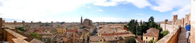 Vista panoramica su tutta la città dal Camminamento di Ronda