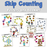 Skip Counting Booklet and Posters