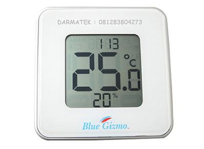 Darmatek Jual Blue Gizmo BG HT-09 Digital Thermo-Hygrometer