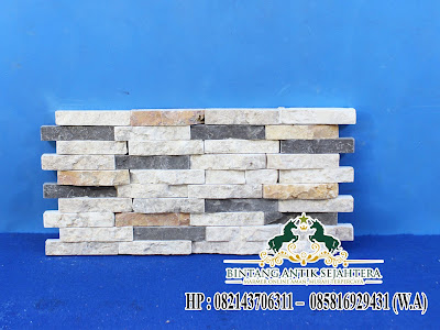 List Dinding Batu Alam