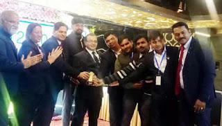 Jaunpur : अयोध्या में पुरस्कृत की गयी जेसीआई शाहगंज सिटी की टीम