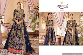 Shenyl Fab Gulaal vol 1 | Wholesale Pakistani Suits Design