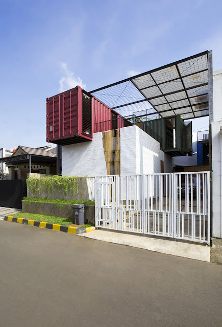 3 Bedroom Tropical Shipping Container Home, Indonesia 1
