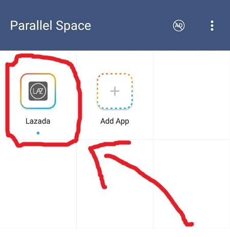 Buka Aplikasi Lazada Kedua