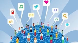 peran akun media sosial telkomsel