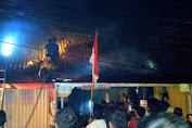 Kebakaran Toko di Simpang Limo Diduga Akibat Arus Pendek