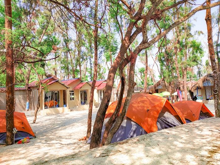 Sand Castles Beach Camp mousuni @doibedouin