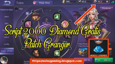 Download Script 2000 Diamond Gratis Patch Granger Mobile Legends