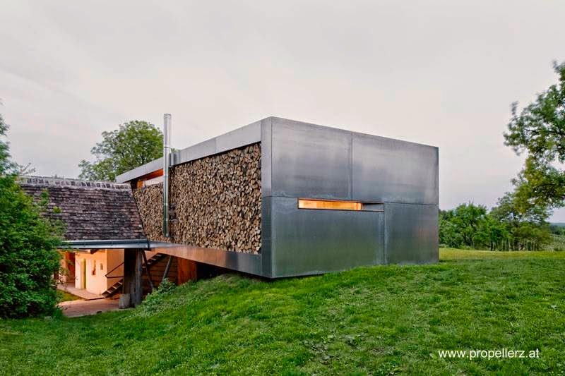 Original casa de campo contemporánea en Austria
