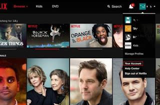 Cara Hapus History Netflix