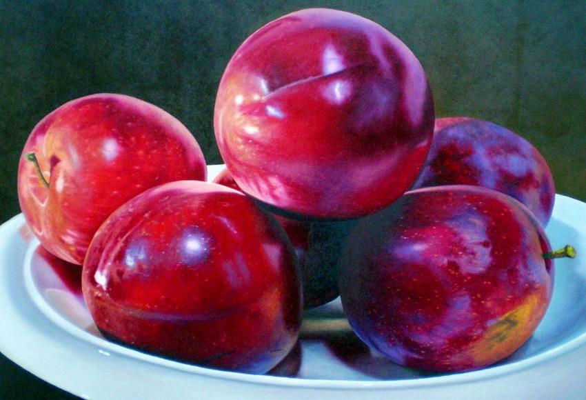 manzanas-citricos-pinturas-realistas bodegones-pinturas-oleo
