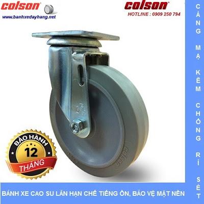Bánh xe đẩy cao su đặc giá rẻ SP Caster Colson Mỹ tại Gia Lai banhxedaycolson.com