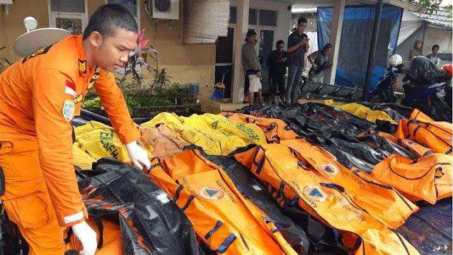 TSUNAMI SELAT SUNDA: Korban Meninggal Mencapai 222 Orang, Tak Ada Warga Asing