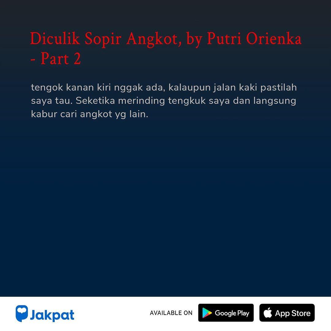 Kisah Misteri Diculik Sopir Angkot, by Putri Orienka Part 2