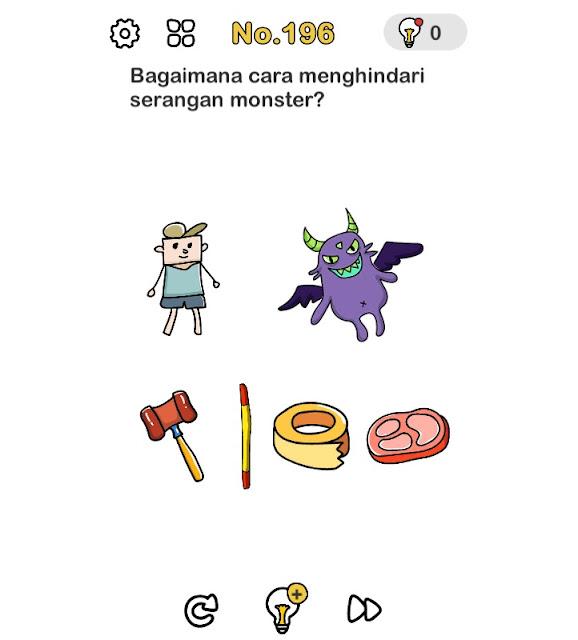 Bagaimana cara menghindari serangan monster?