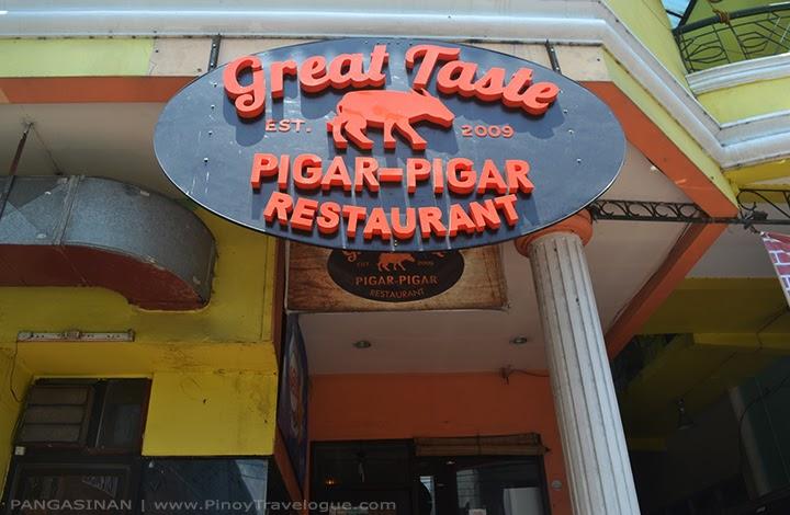 Great Taste Pigar-pigar Restaurant's facade