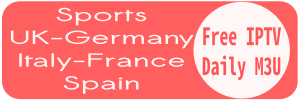 Sports Germany UK France Italy Spain Mix Playlist