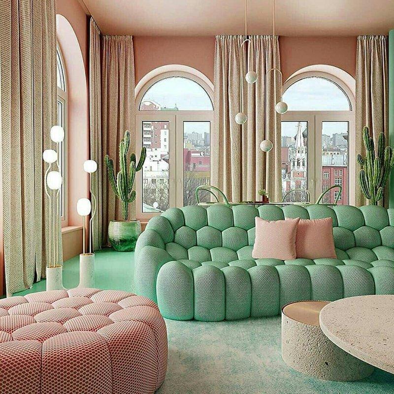 Como usar verde menta ou neo mint na decoração