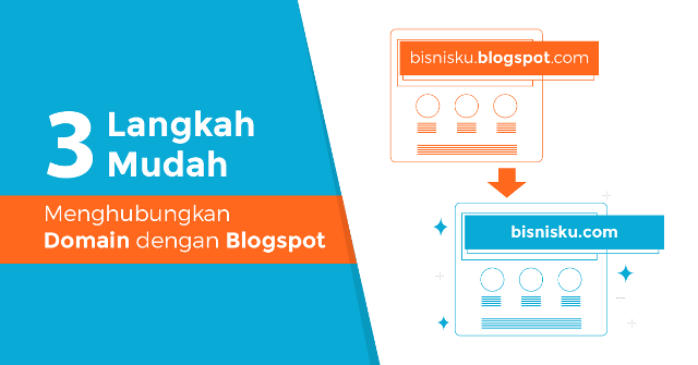 Cara Custom Domain Blogger Terbaru: Pasang Nama Domain Sendiri