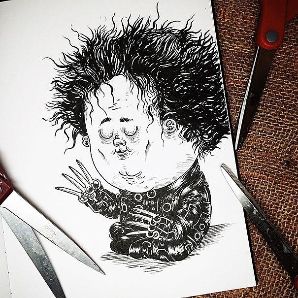 Edward cartoon