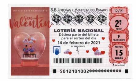 loteria nacional san valentin